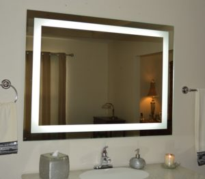 Lighted Bathroom Mirror Fancy Amazon Wall Mounted Lighted Vanity Mirror Led Mam Photo