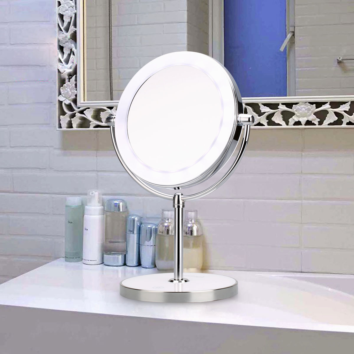 lovely bathroom makeup vanity portrait-Cute Bathroom Makeup Vanity Photograph