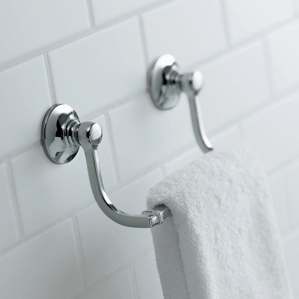 lovely bathroom towel rack concept-Contemporary Bathroom towel Rack Image