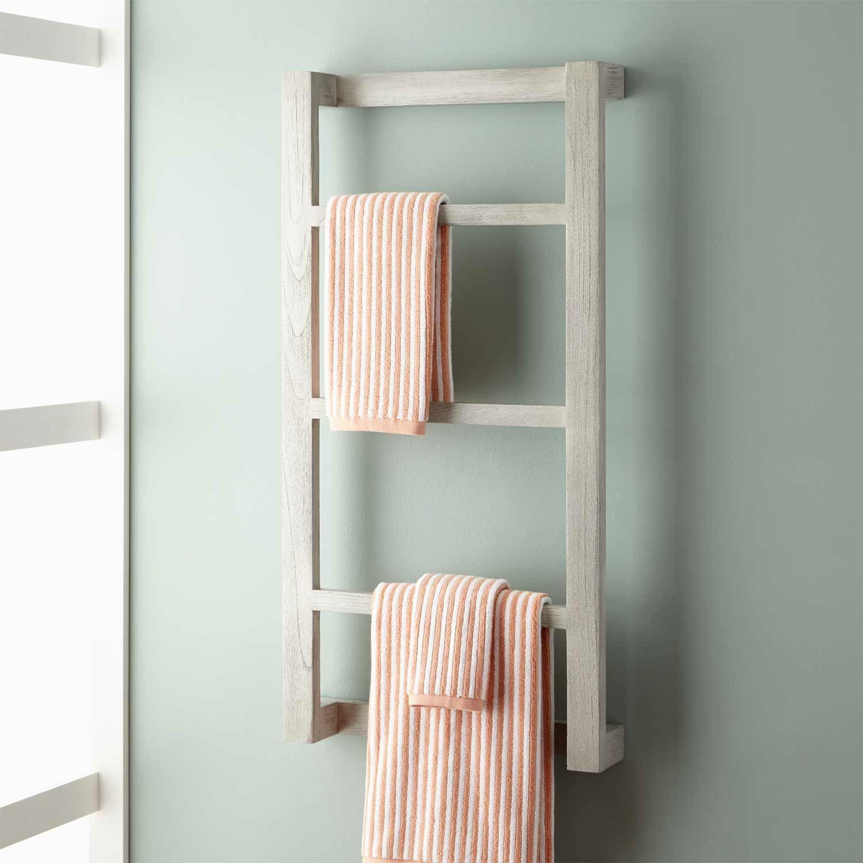 lovely bathroom towel rack pattern-Contemporary Bathroom towel Rack Image