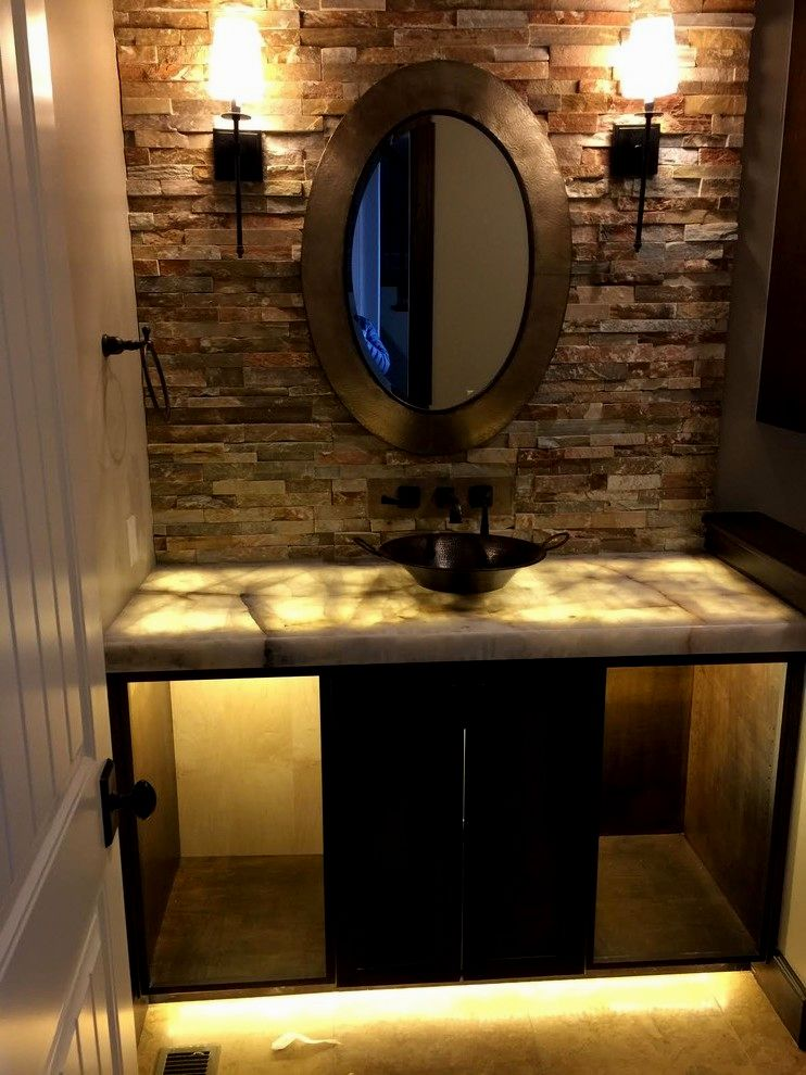 lovely bathroom vanity with vessel sink pattern-Beautiful Bathroom Vanity with Vessel Sink Design
