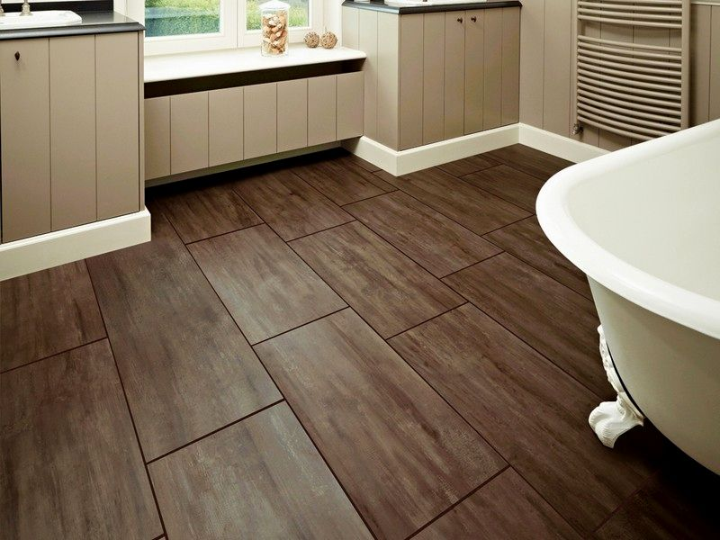 lovely wood tile bathroom design-Fantastic Wood Tile Bathroom Ideas