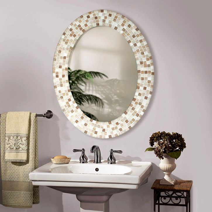 luxury oval bathroom mirrors décor-Beautiful Oval Bathroom Mirrors Décor