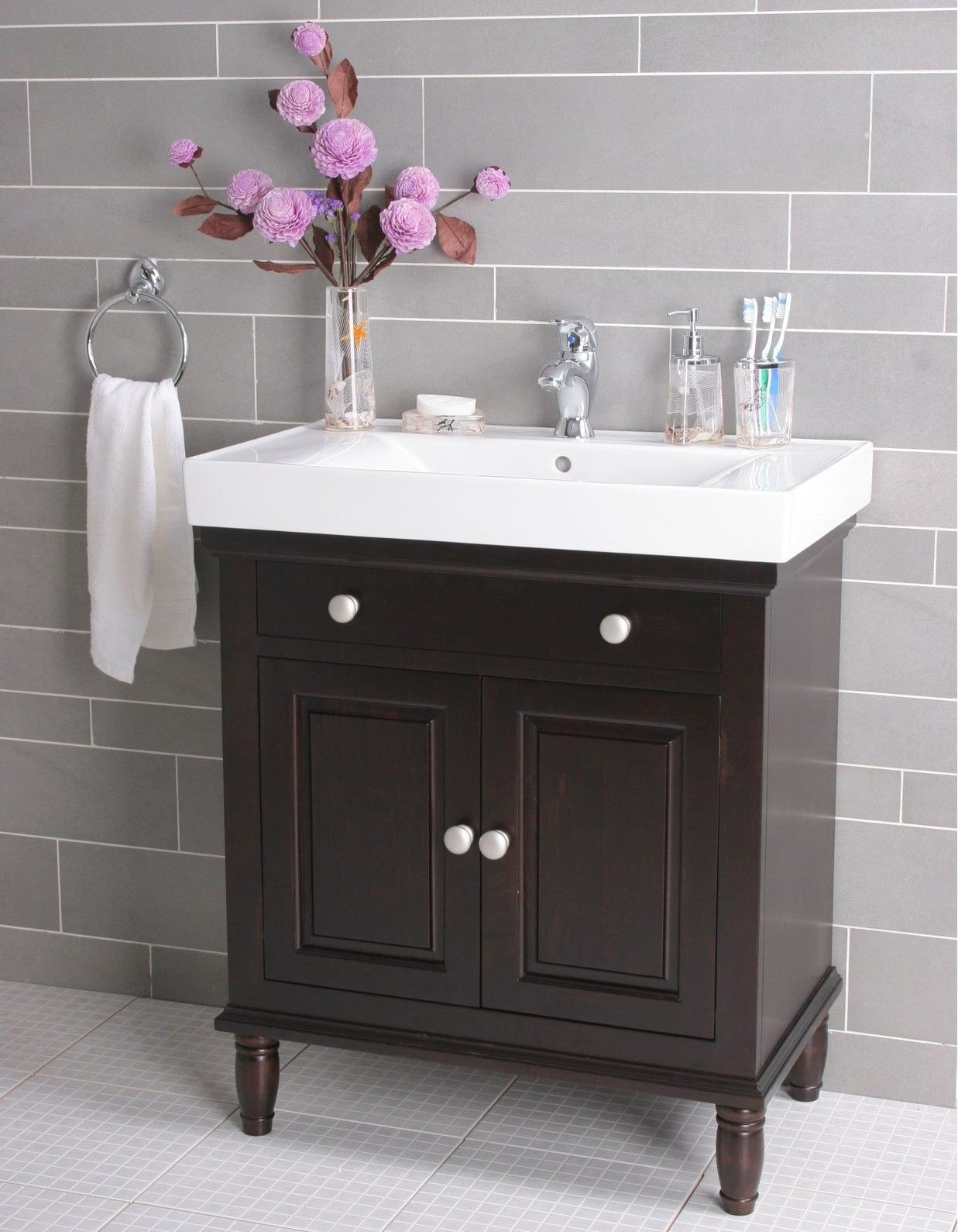 Stylish Menards Bathroom Vanity Photograph