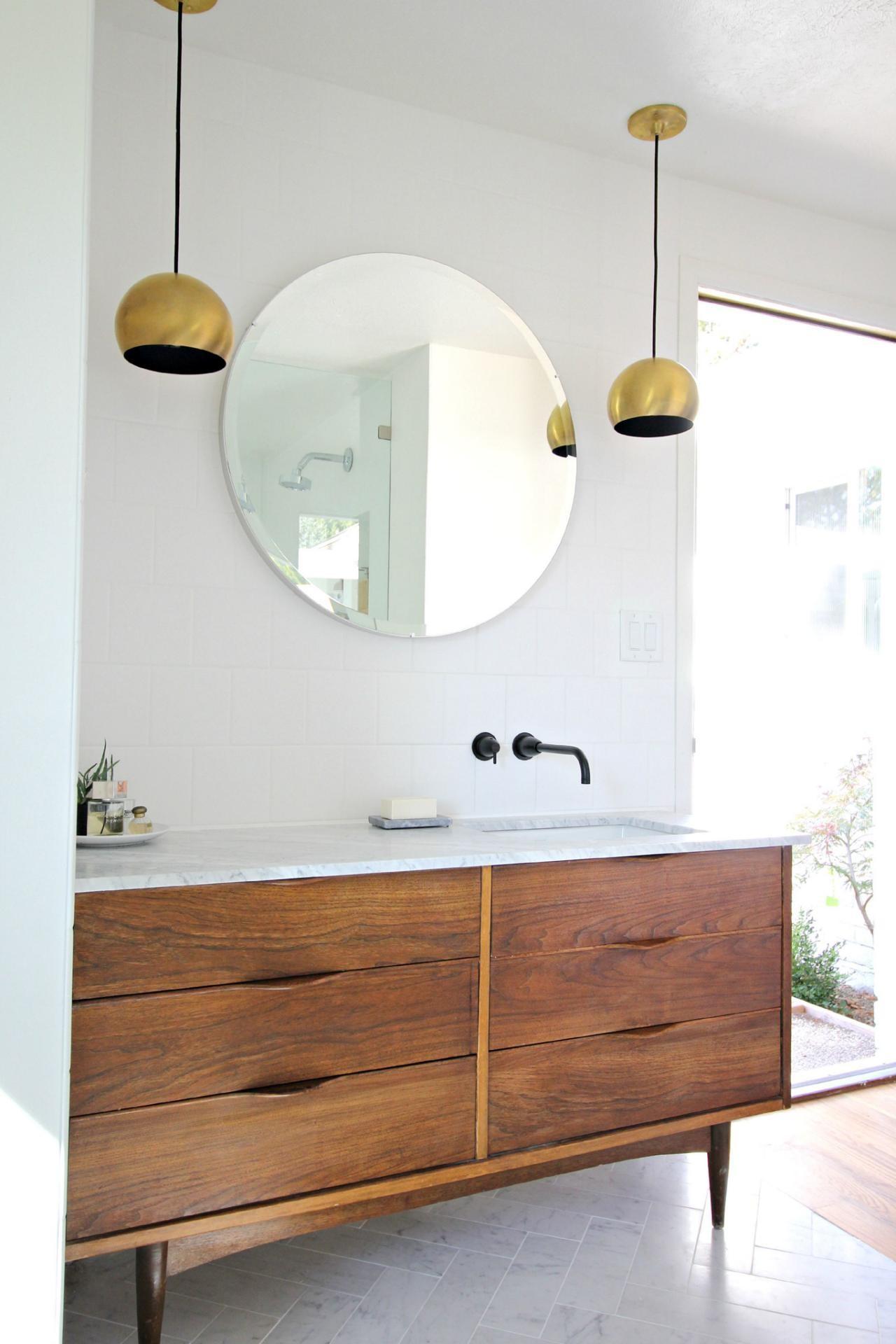 Stunning Mid Century Bathroom Vanity Architecture Bathroom Design