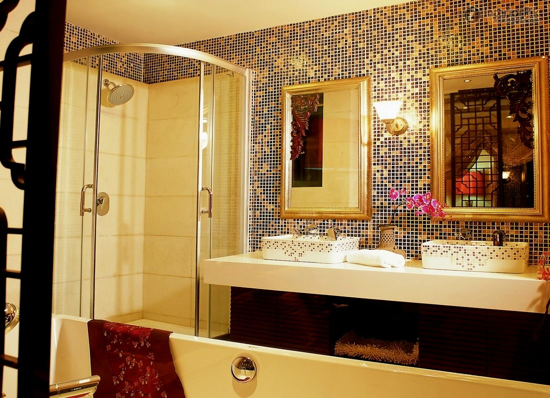 modern gold bathroom accessories picture-Stylish Gold Bathroom Accessories Collection
