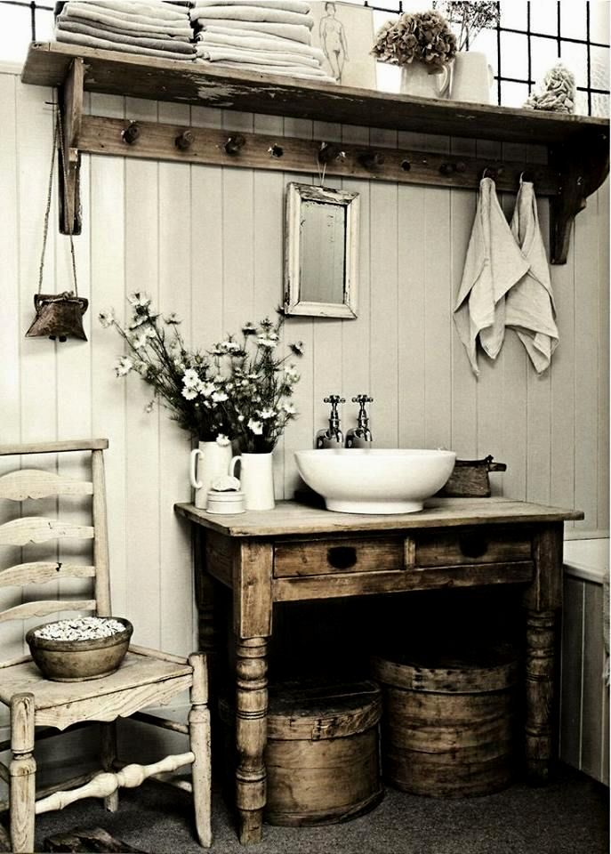 modern shabby chic bathroom décor-Fantastic Shabby Chic Bathroom Concept