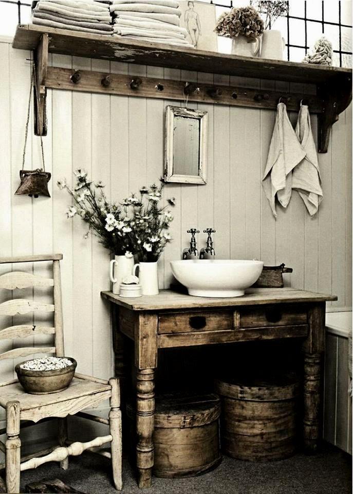 modern shabby chic bathroom décor-Fantastic Shabby Chic Bathroom Concept