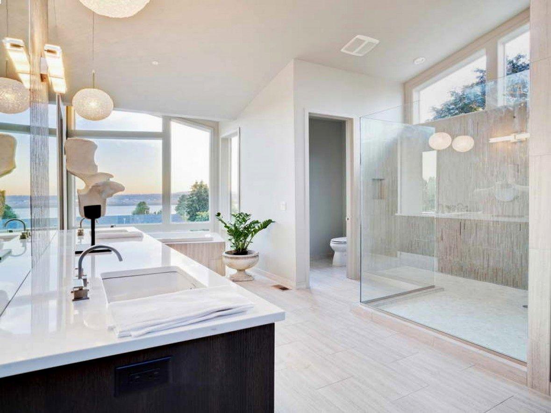 modern wood tile bathroom image-Fantastic Wood Tile Bathroom Ideas