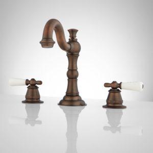 Oil Rubbed Bronze Bathroom Faucet Latest Roseanna Widespread Bathroom Faucet Porcelain Lever Handles Architecture
