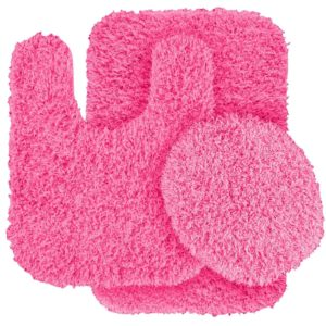 Pink Bathroom Rugs Terrific Luxury Pink Bathroom Rugs S Décor