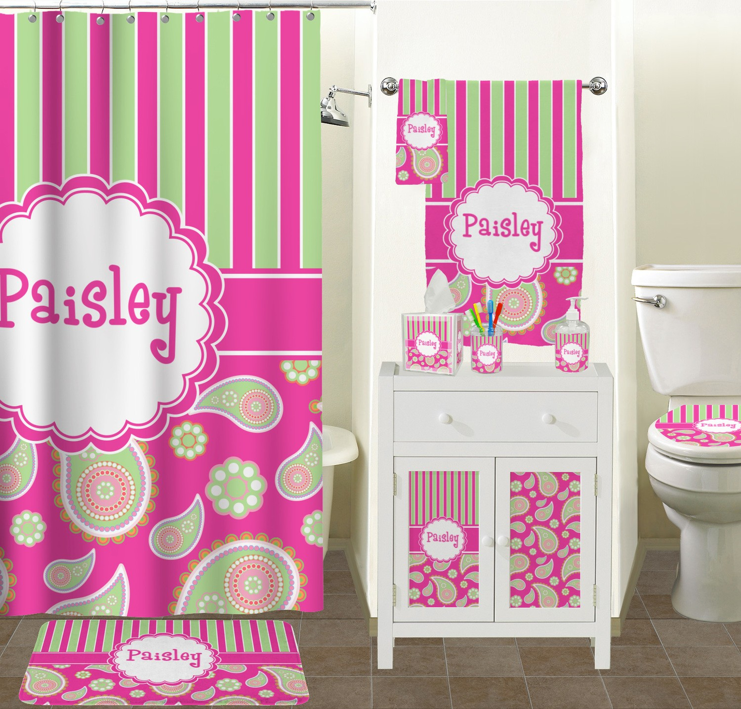 Excellent Pink Bathroom Sets Picture