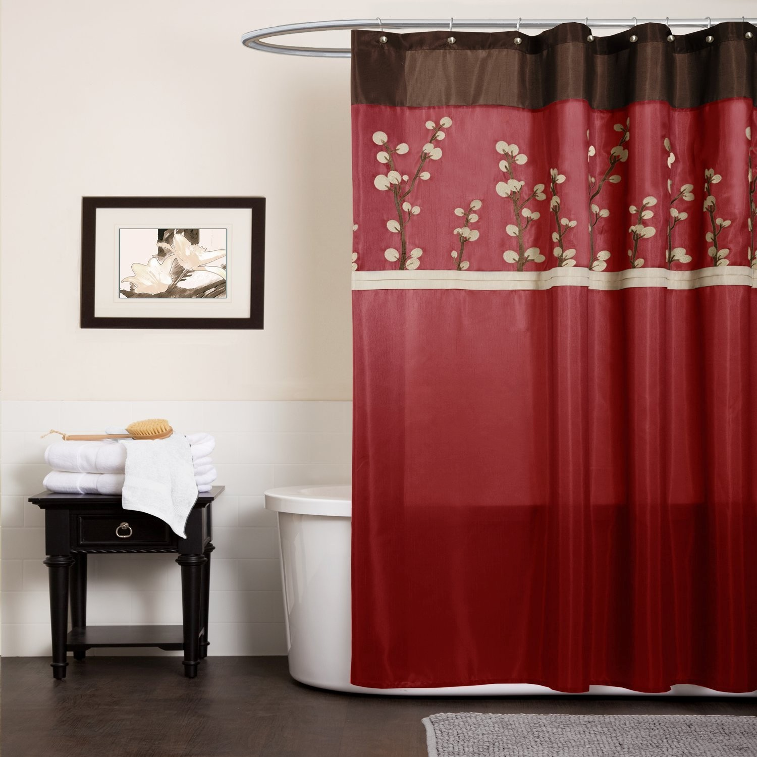 Unique Red Bathroom Accessories Gallery