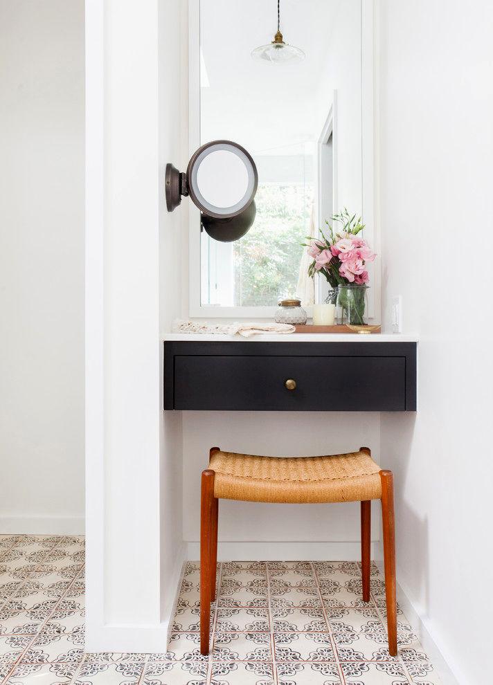 sensational bathroom makeup vanity image-Cute Bathroom Makeup Vanity Photograph