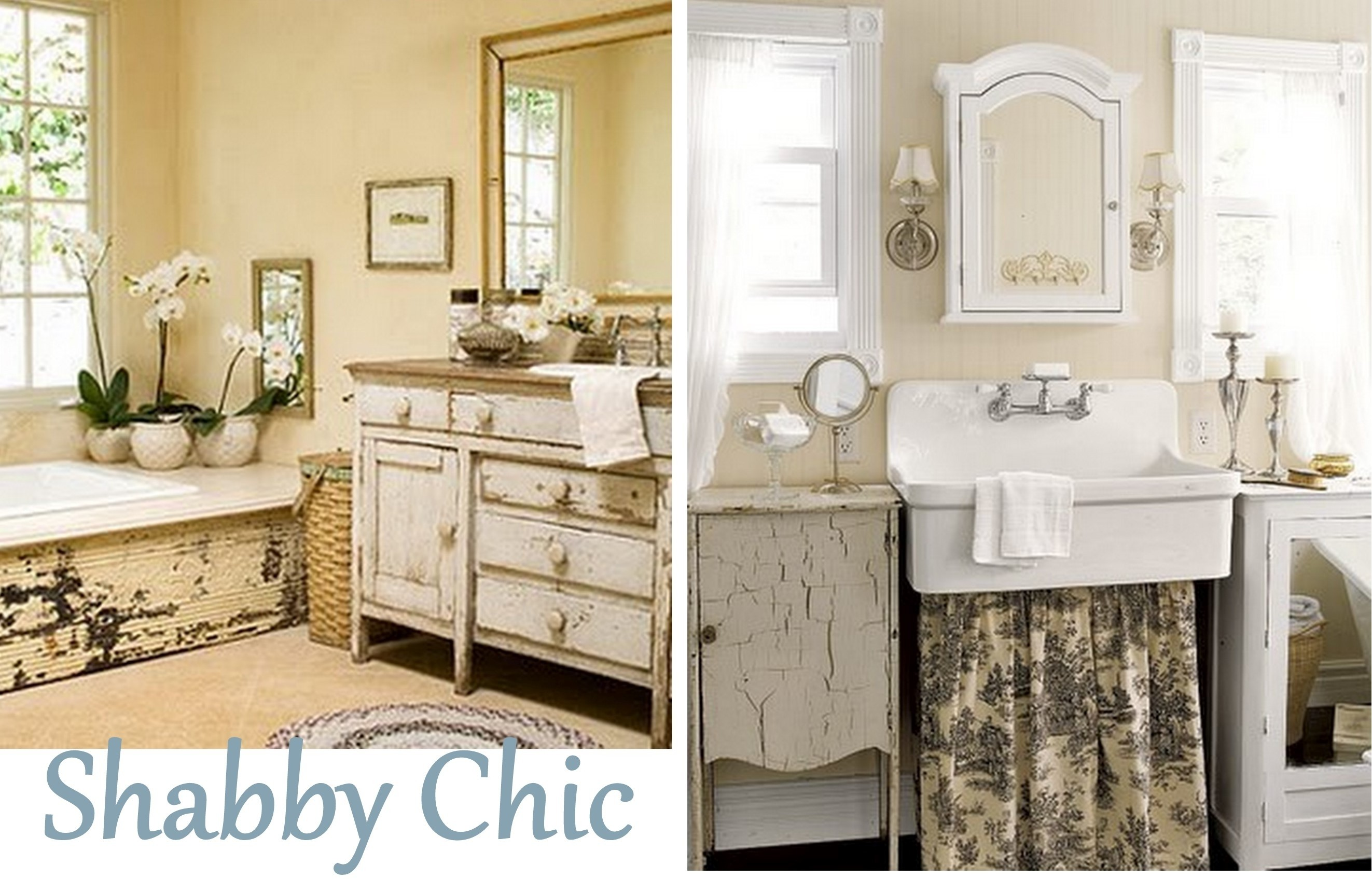 Fantastic Shabby Chic Bathroom Concept