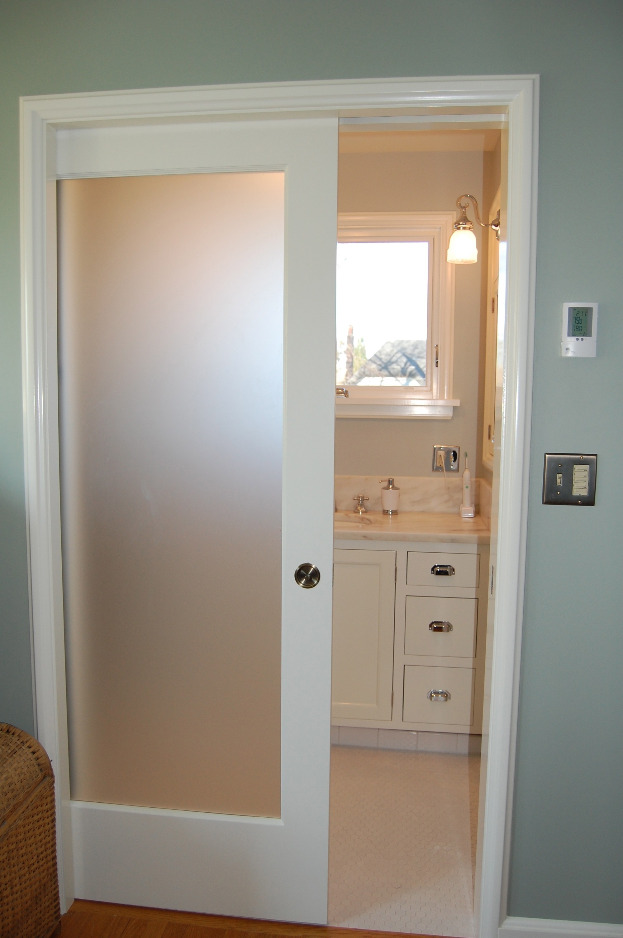Sliding Bathroom Door Luxury Bathroom Nice Sliding Bathroom Doors with Door Into Wall Ideas Construction