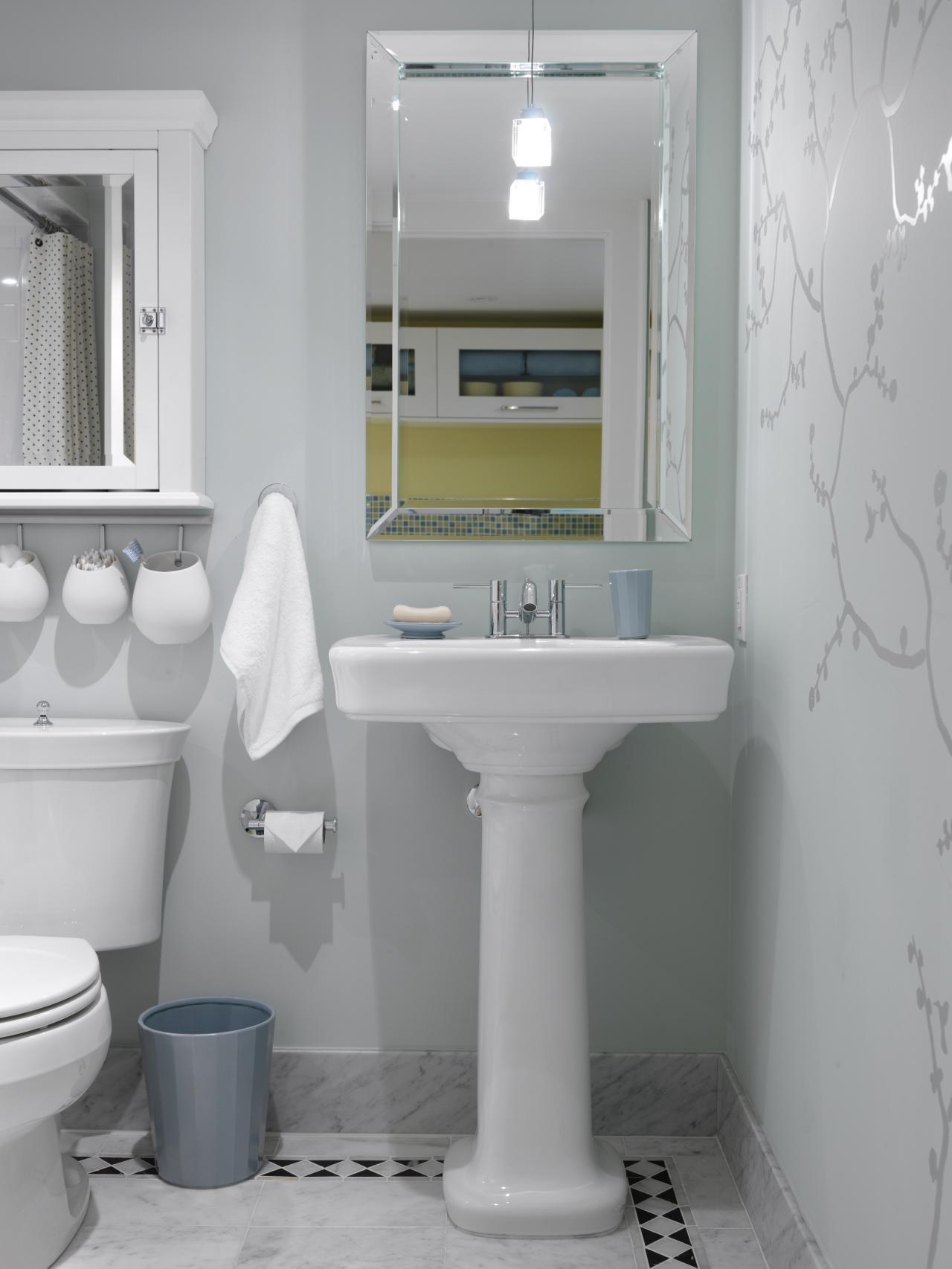 Fancy Small Bathroom Design Ideas