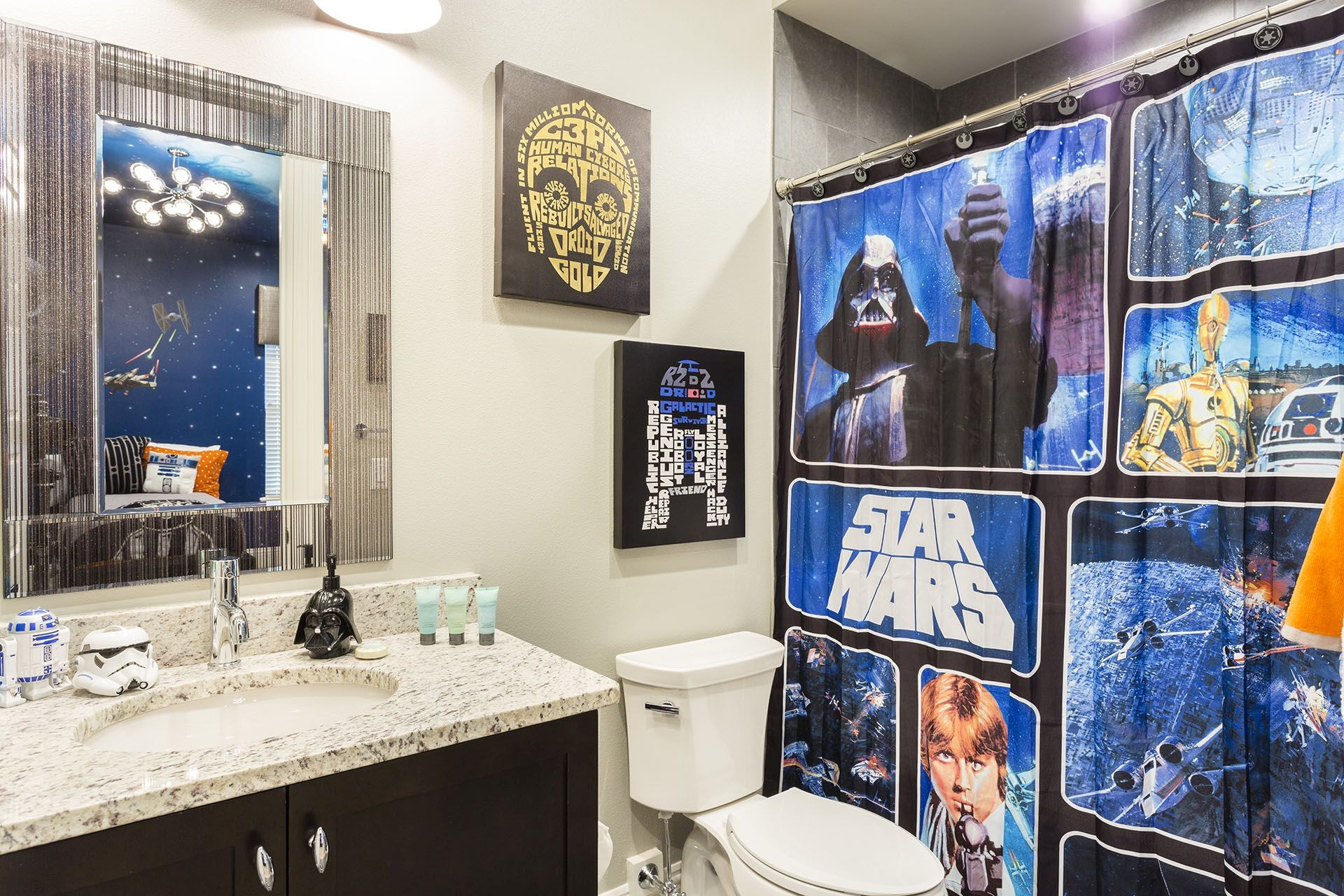 Luxury Star Wars Bathroom Picture