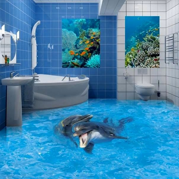 stunning 3d bathroom floors photograph-Unique 3d Bathroom Floors Model