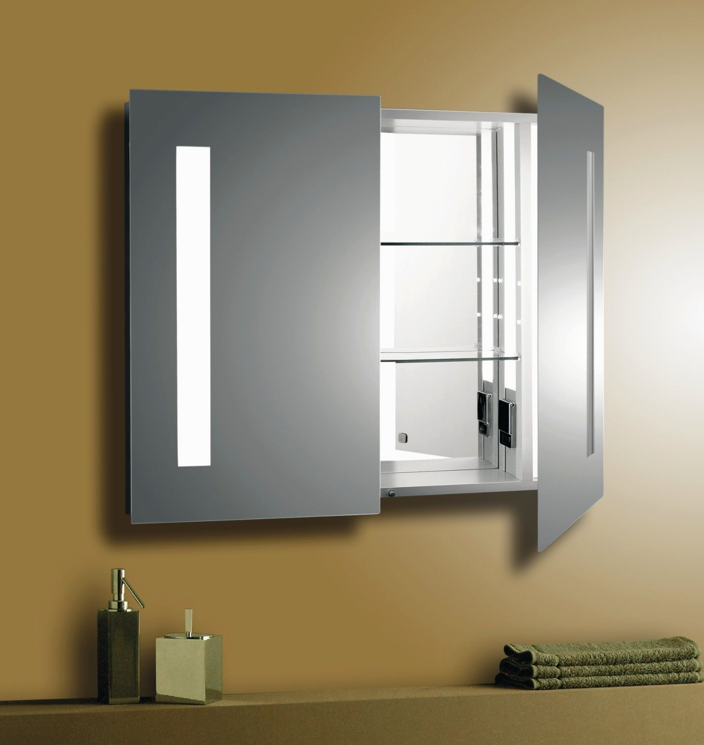 stunning lighted bathroom mirror picture-Finest Lighted Bathroom Mirror Layout