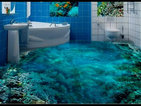stylish 3d bathroom floors portrait-Unique 3d Bathroom Floors Model