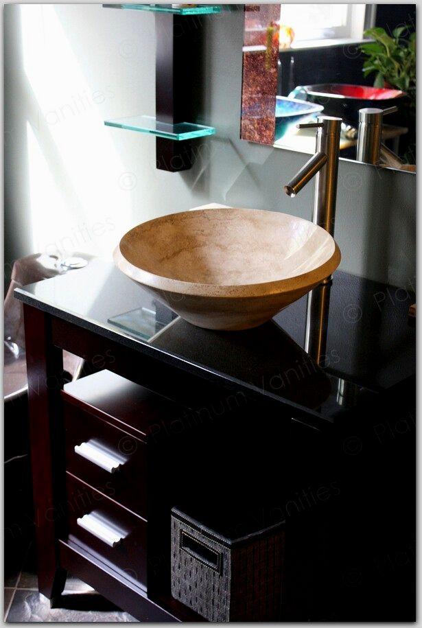 superb bathroom vanity with vessel sink photograph-Beautiful Bathroom Vanity with Vessel Sink Design