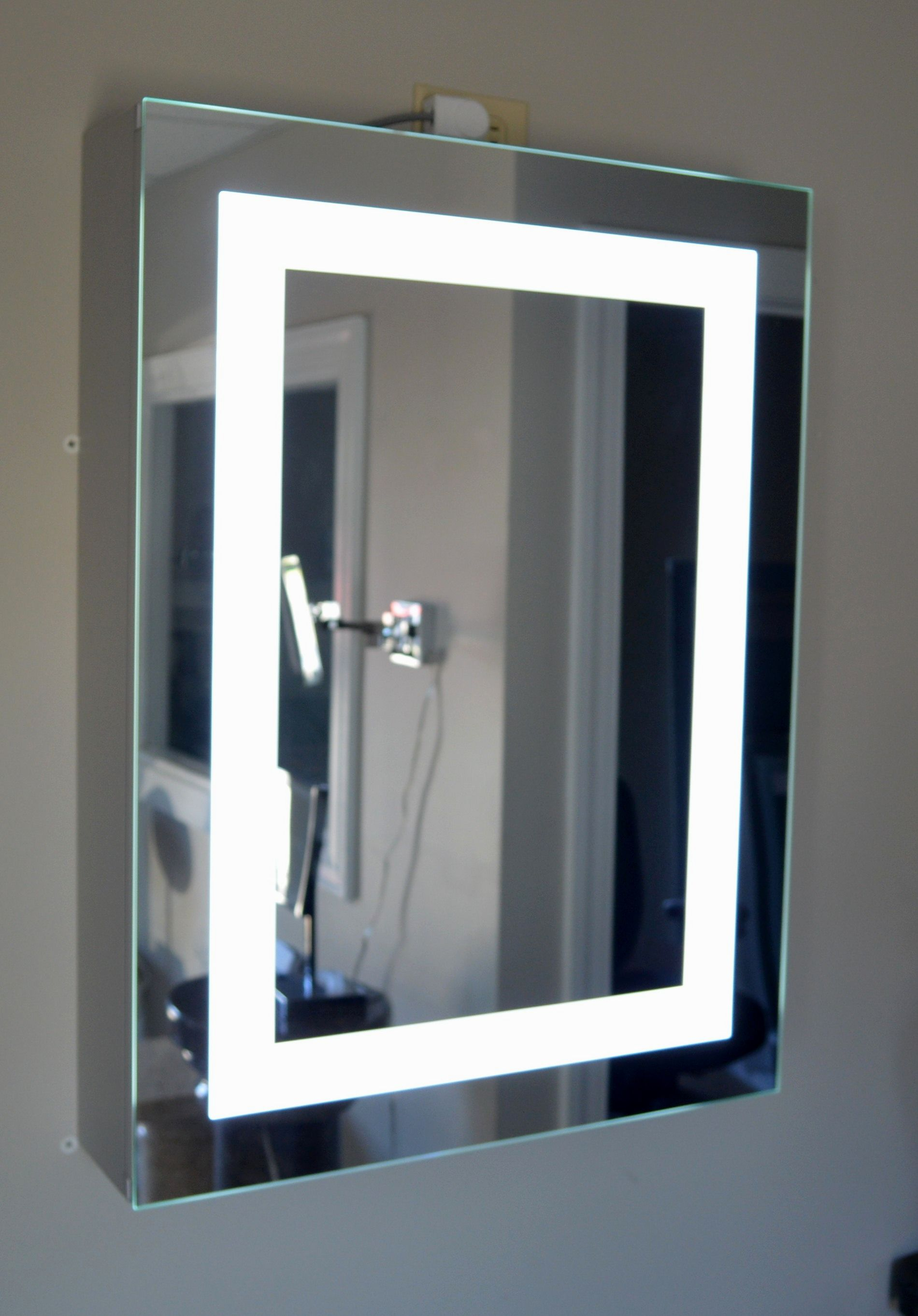 superb lighted bathroom mirror photo-Finest Lighted Bathroom Mirror Layout