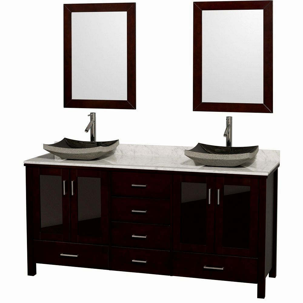 terrific bathroom vanity with vessel sink photo-Beautiful Bathroom Vanity with Vessel Sink Design