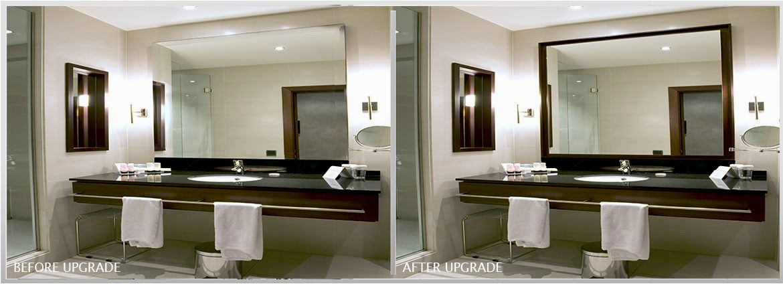 terrific framed bathroom mirrors photo-Stylish Framed Bathroom Mirrors Picture