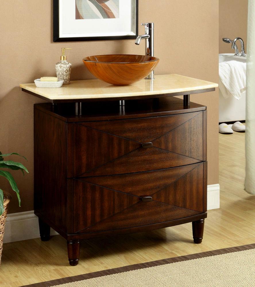 top bathroom vanity with vessel sink photo-Beautiful Bathroom Vanity with Vessel Sink Design