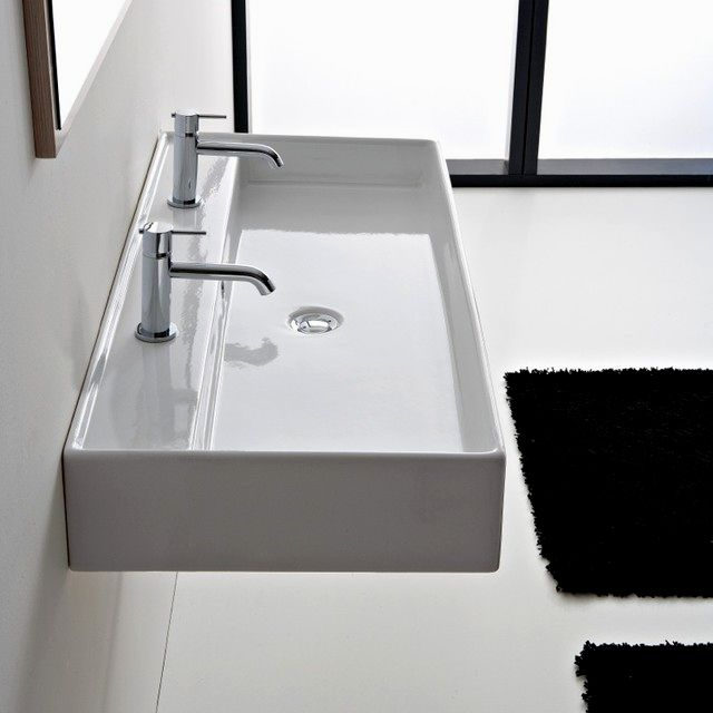 top modern bathroom mirrors model-Beautiful Modern Bathroom Mirrors Image