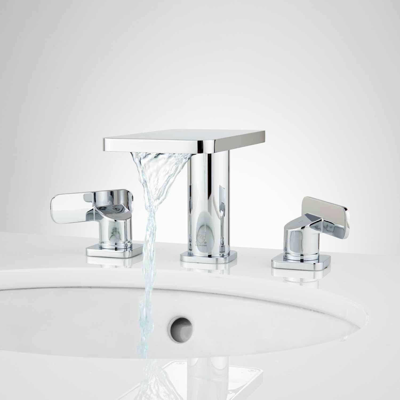 top waterfall bathroom faucet design-Wonderful Waterfall Bathroom Faucet Concept