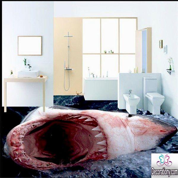unique bathroom floor ideas decoration-Awesome Bathroom Floor Ideas Model