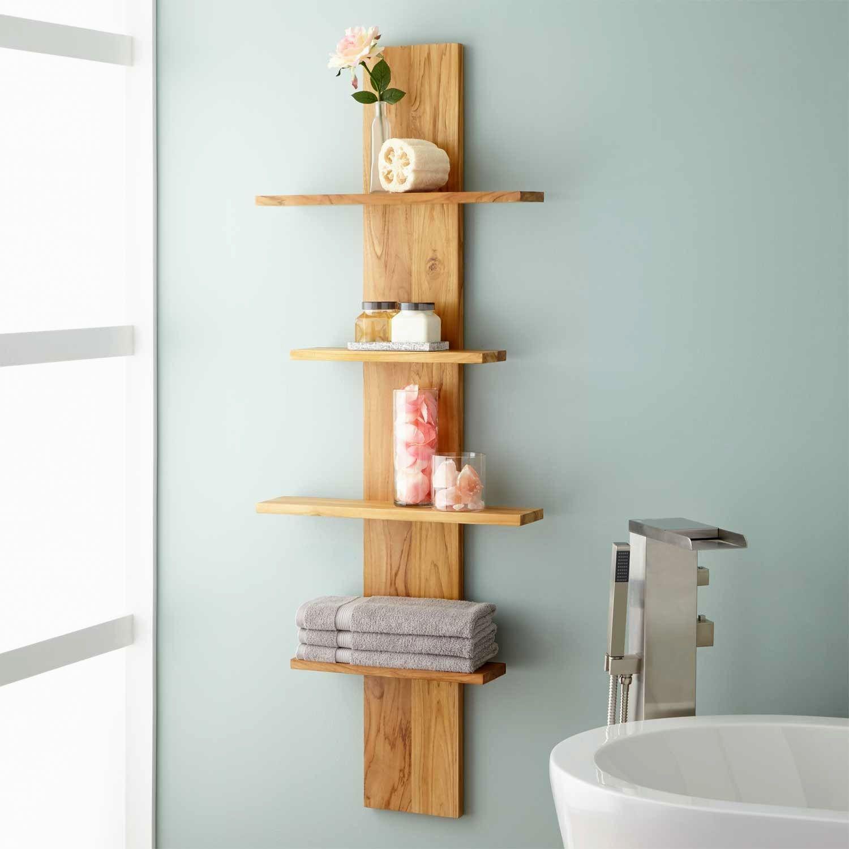 unique bathroom shelving ideas photo-Lovely Bathroom Shelving Ideas Collection