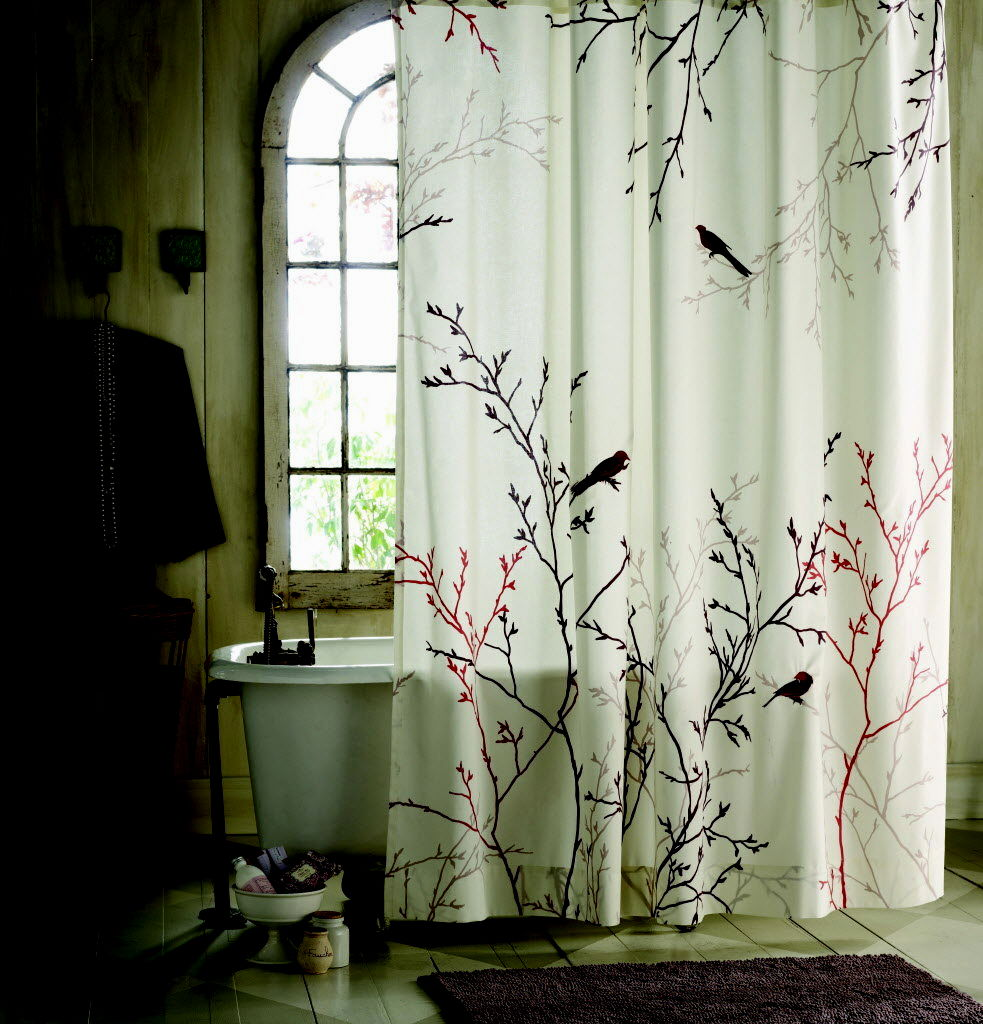 unique bathroom shower curtain sets image-Beautiful Bathroom Shower Curtain Sets Decoration