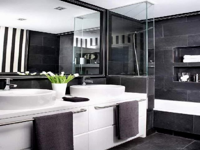 unique black and white bathroom tile decoration-Best Of Black and White Bathroom Tile Inspiration