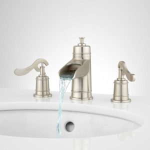 Waterfall Bathroom Faucet Inspirational Melton Widespread Waterfall Bathroom Faucet Bathroom Gallery