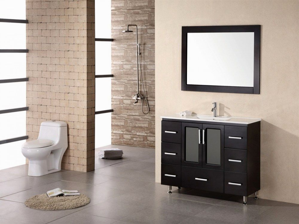 wonderful modern bathroom mirrors model-Beautiful Modern Bathroom Mirrors Image