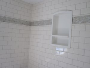 Wood Tile Bathroom Stylish Ceramic Tile Bathroom Featuring sonoma Tile and Wood Look Plank Concept