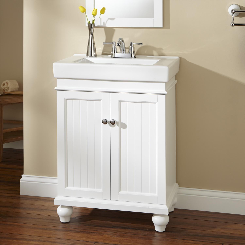 24 Inch Bathroom Vanity Cabinet Lovely Lander Vanity White Bathroom Pattern