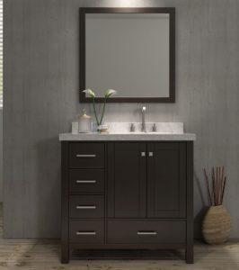 37 Inch Bathroom Vanity Excellent Ace Cambridge Inch Single Sink Bathroom Vanity Set Right Ideas
