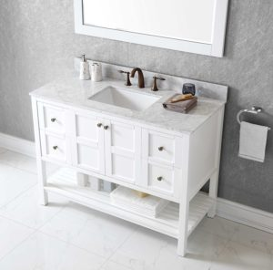 48 Inch Bathroom Vanity with top and Sink Latest Bathroom Inch Grey Single Sink Bathroom Vanity with Marble Portrait