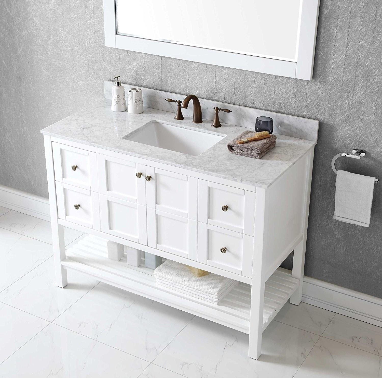 48 Bathroom Vanities With Tops: Best Of 48 Inch Bathroom Vanity With Top And Sink Layout