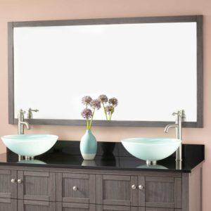 60 Bathroom Mirror Cool Bathroom Mirrors X Elegant Everett Vanity Mirror ash Gray Plan