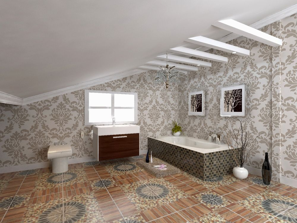 amazing 4x4 bathroom tile model-Stylish 4×4 Bathroom Tile Gallery
