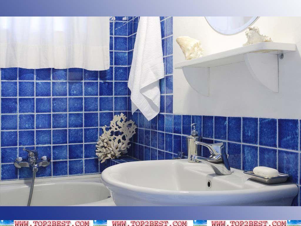 amazing blue glass tile bathroom architecture-Amazing Blue Glass Tile Bathroom Photograph