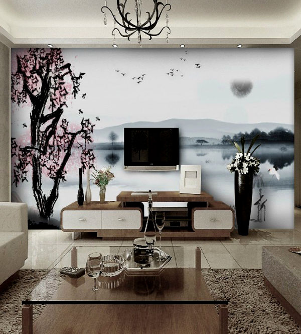 Incredible Cherry Blossom Bathroom Decor Design - Bathroom Design ...
