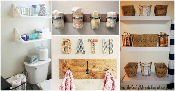 amazing creative bathroom storage decoration-Beautiful Creative Bathroom Storage Pattern