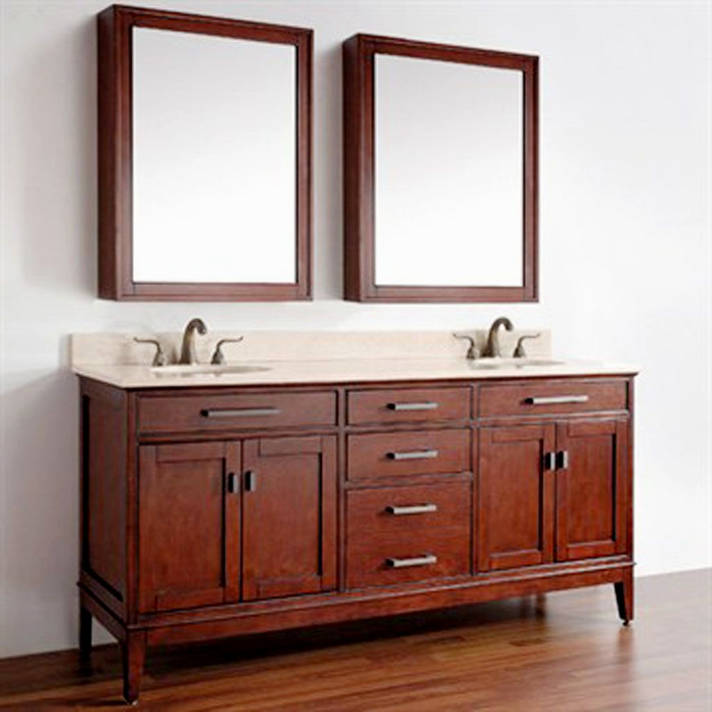 Contemporary White Bathroom Vanity Home Depot Layout