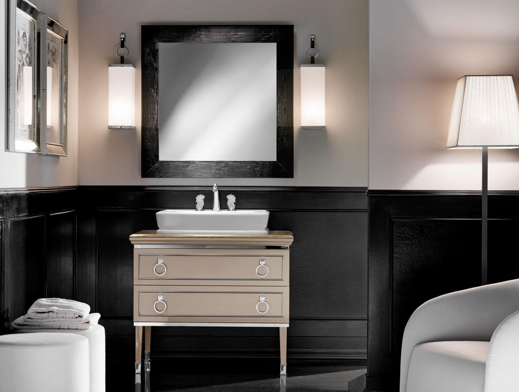 Modern Art Deco Bathroom Vanity Concept Bathroom Design Ideas